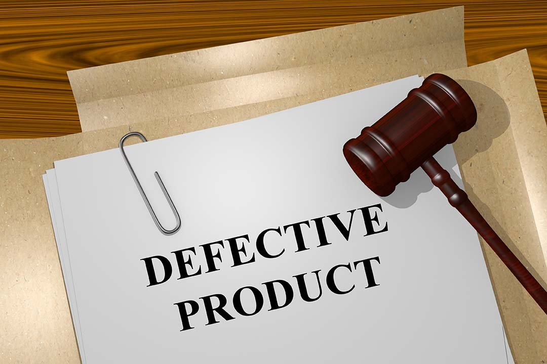 What must I establish to win my liability lawsuit for a defective product?